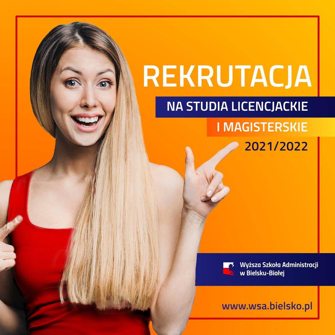 Rekrutacja na studia 2021 WSA Bielsko-Biała